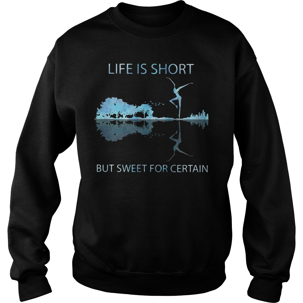 Guitar life is short but sweet for certain Sweater