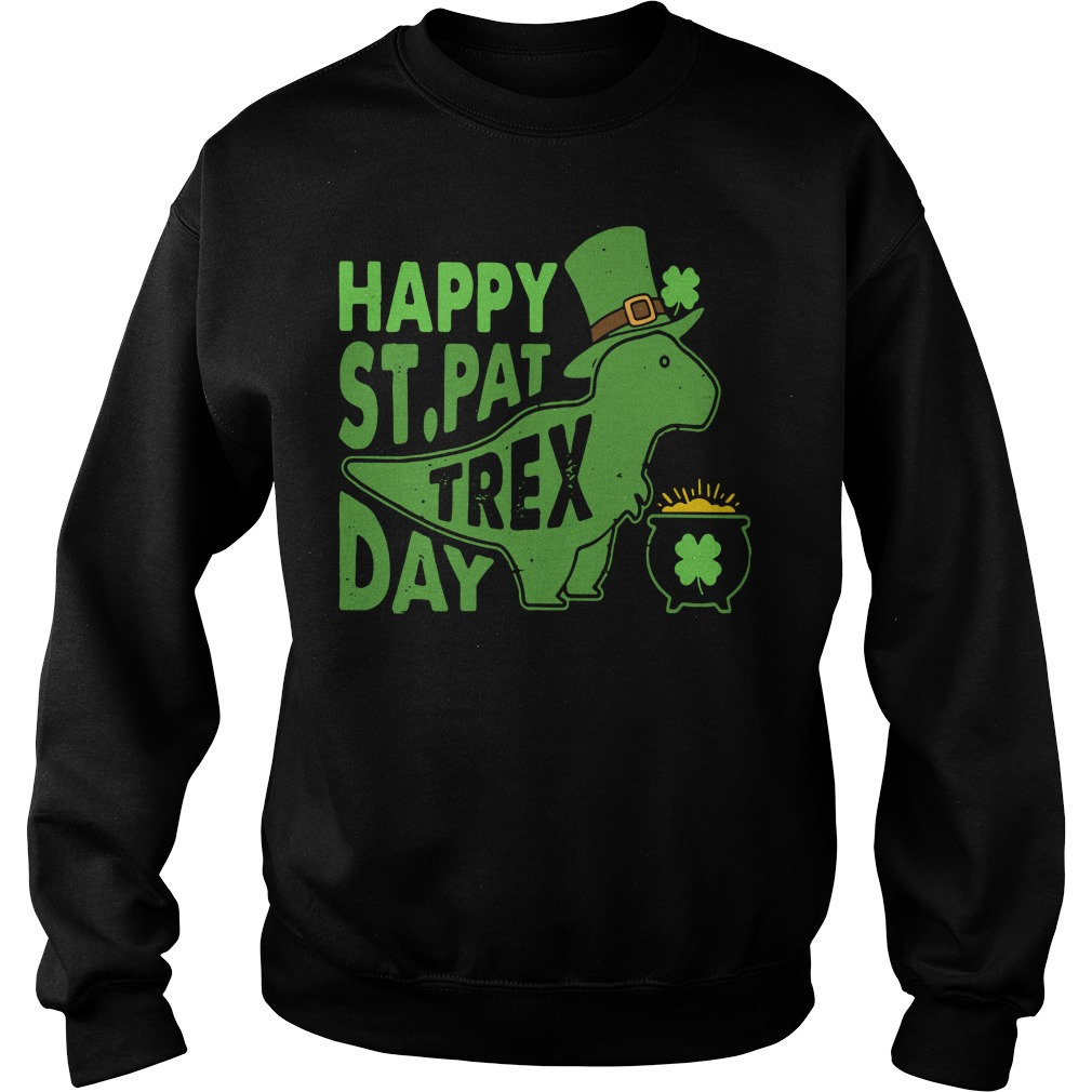 Happy St Pat t-rex day Sweater
