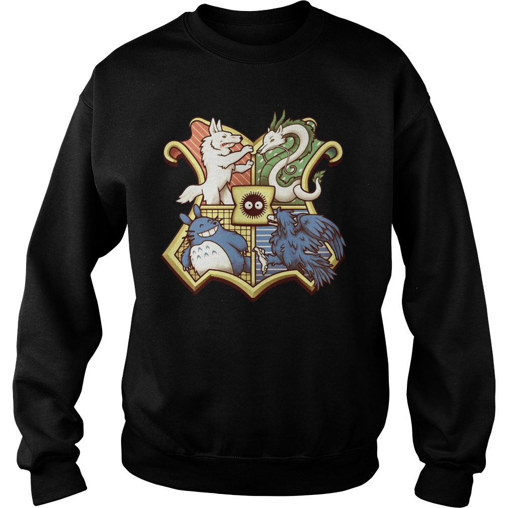 Harry Potter Ghibliwarts Crest Rug Sweater