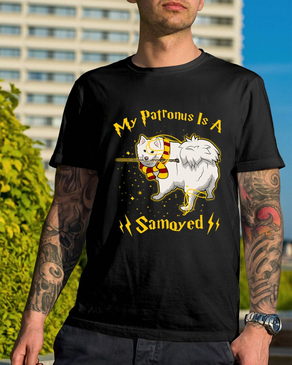 Harry Potter my Patronus is a Samoyed shirt