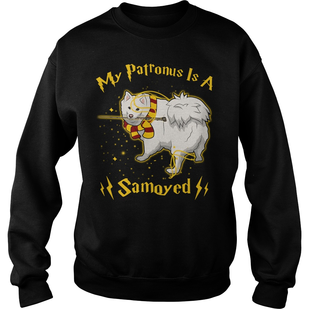 Harry Potter my Patronus is a Samoyed Sweater