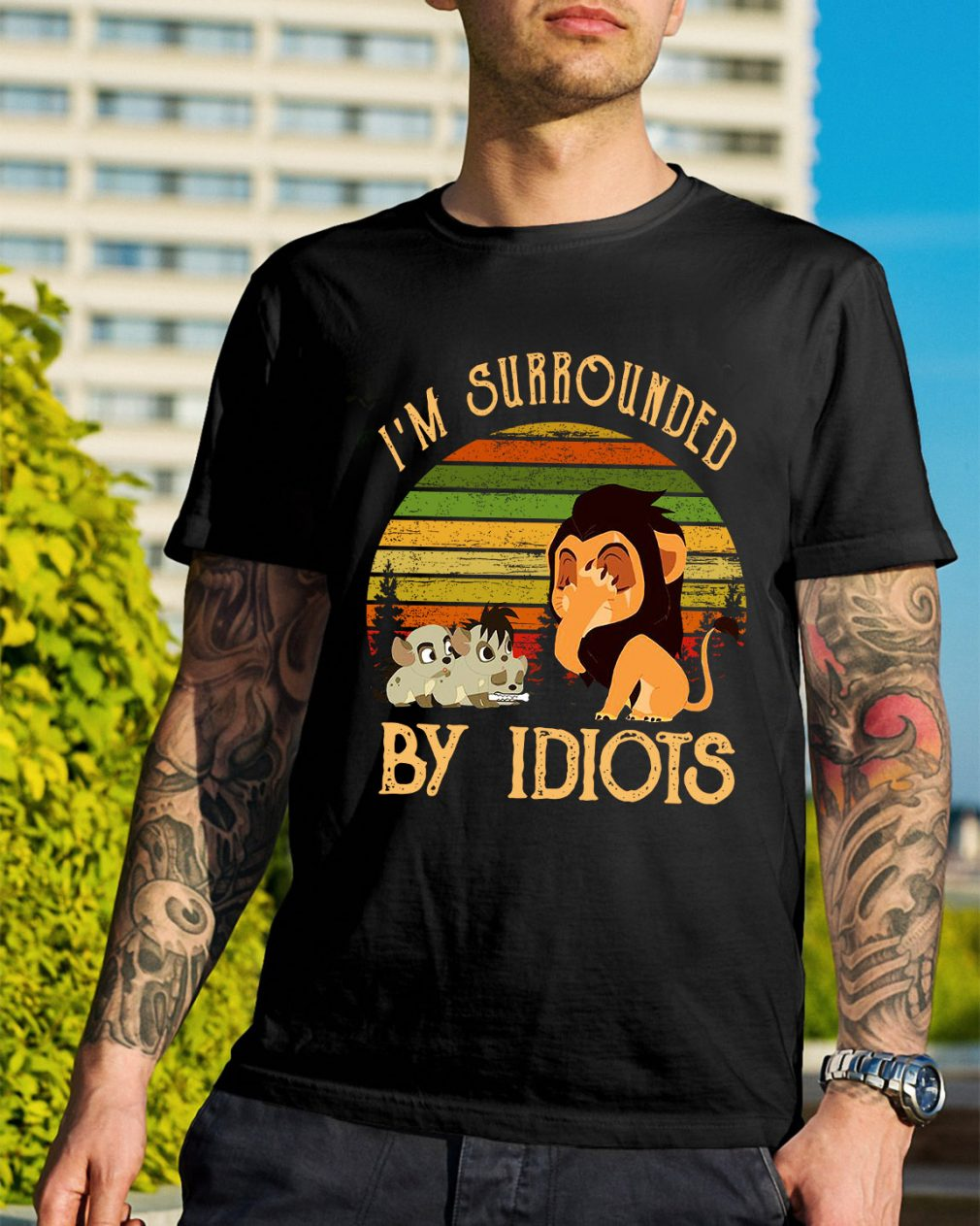 I'm surrounded by Idiots vintage shirt