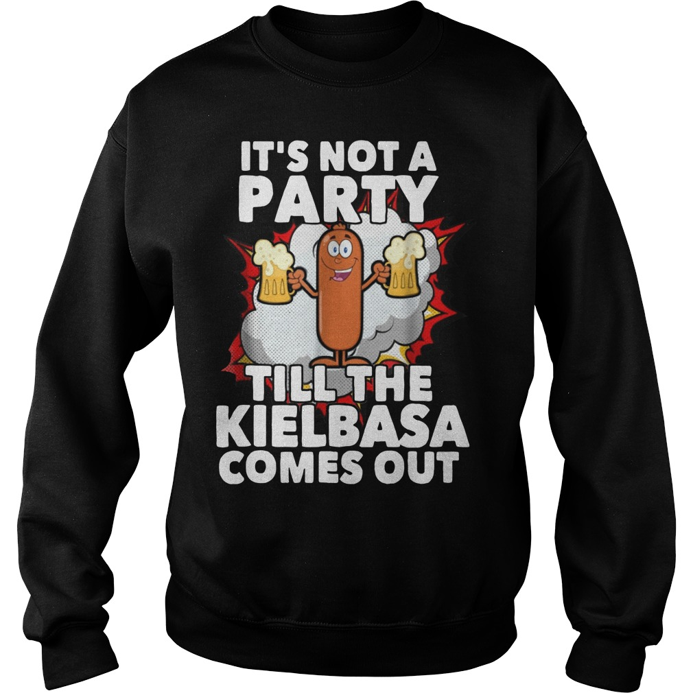 It's not a party till the Kielbasa Comes out Sweater