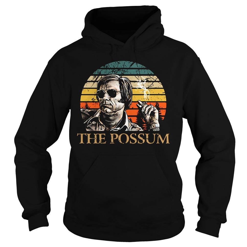 Jim Jones the Possum vintage Hoodie