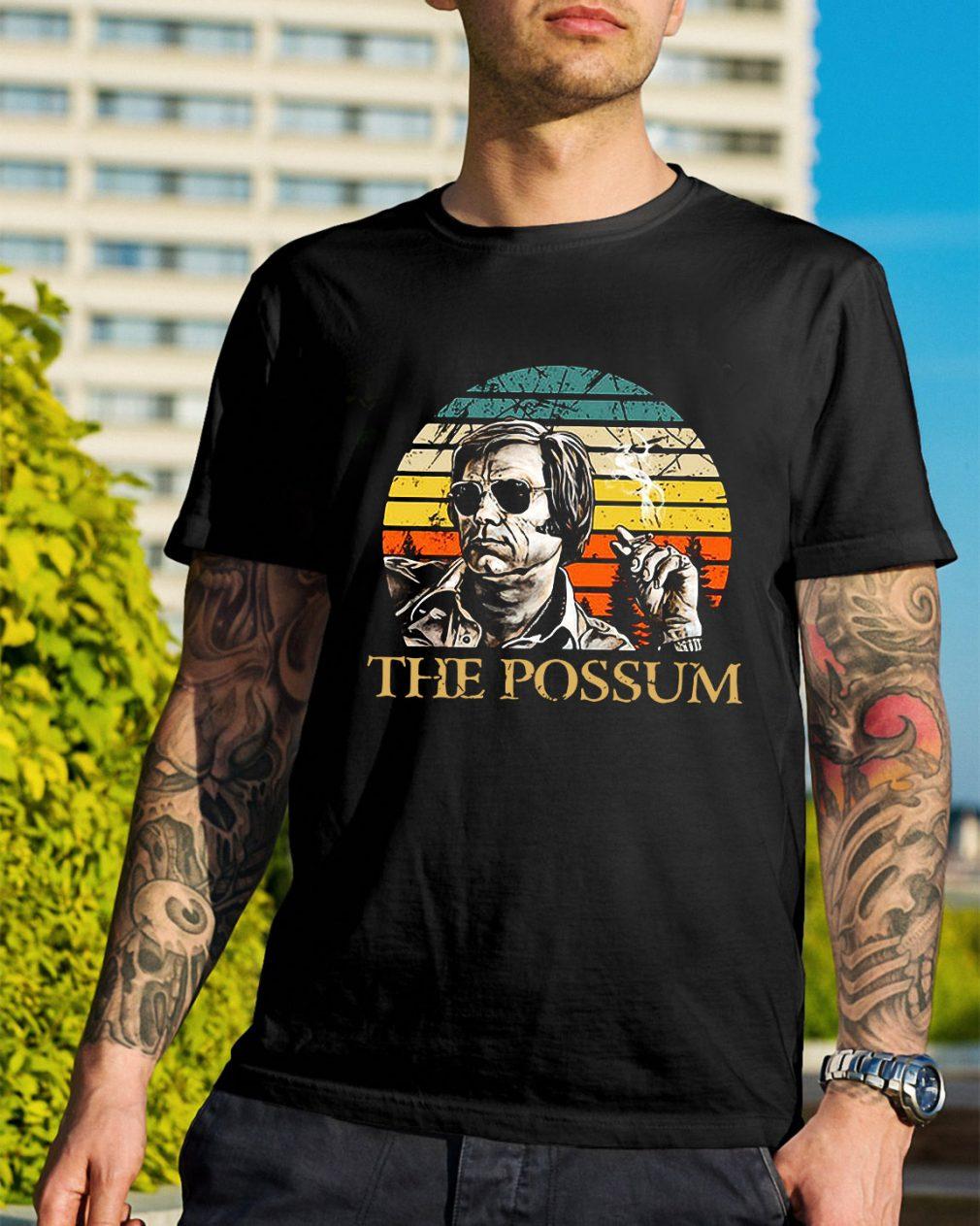 Jim Jones the Possum vintage shirt