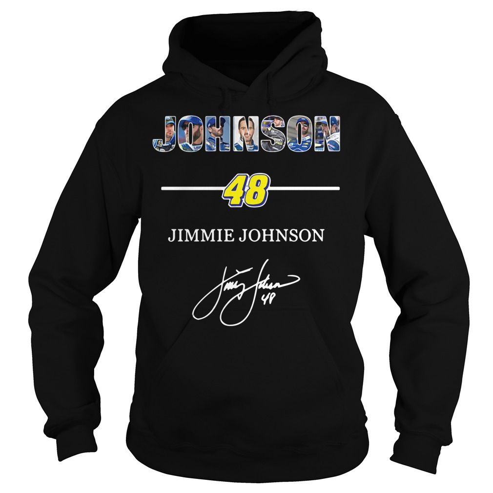 Johnson 48 Jimmie Johnson signature Hoodie