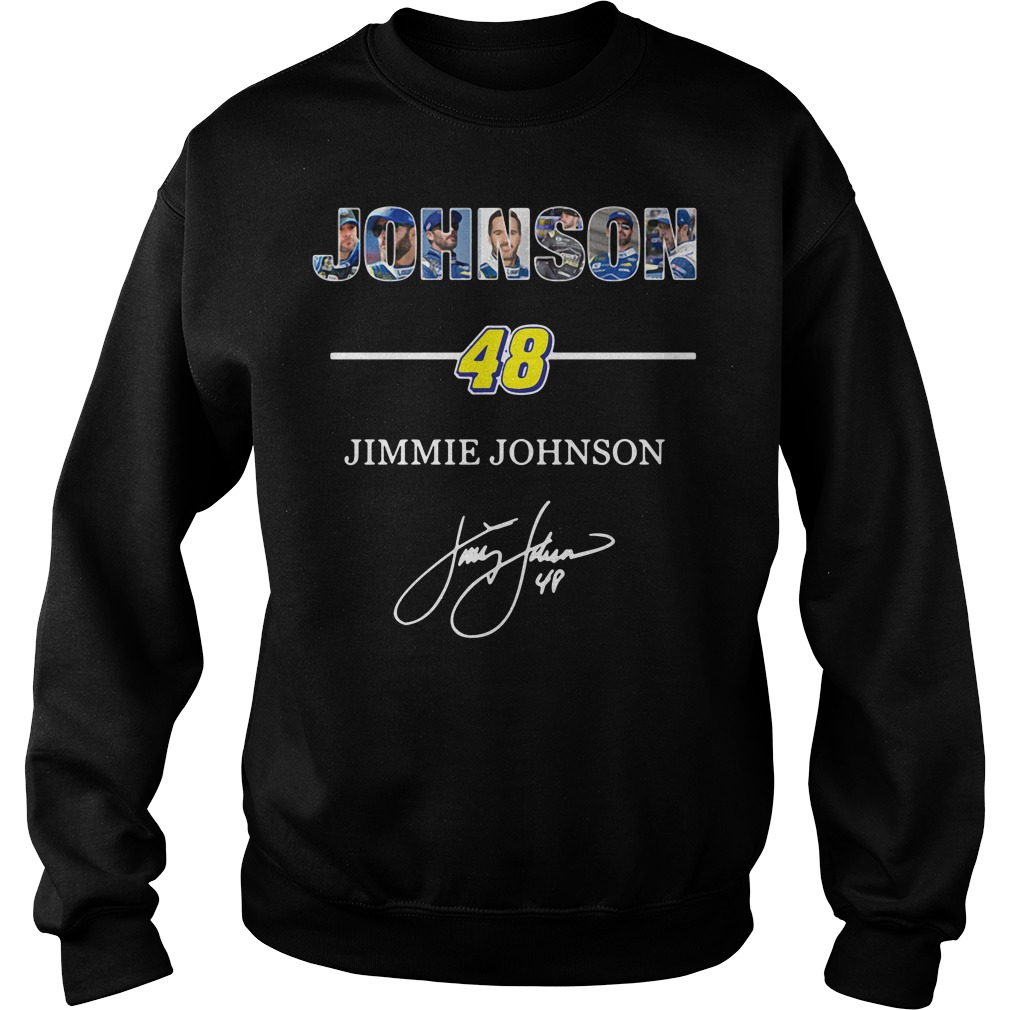Johnson 48 Jimmie Johnson signature Sweater