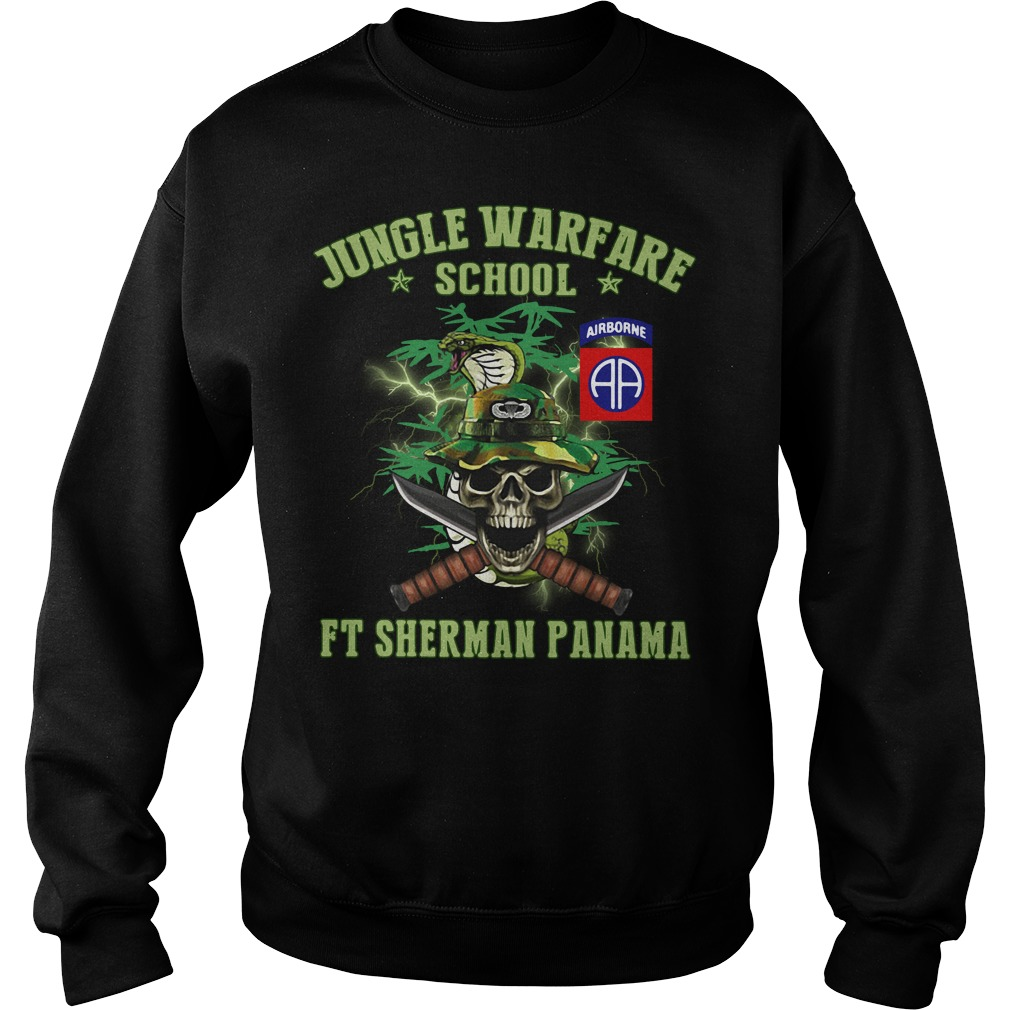 Jotc Airborne Jungle Warfare school Ft Sherman Panama Sweater