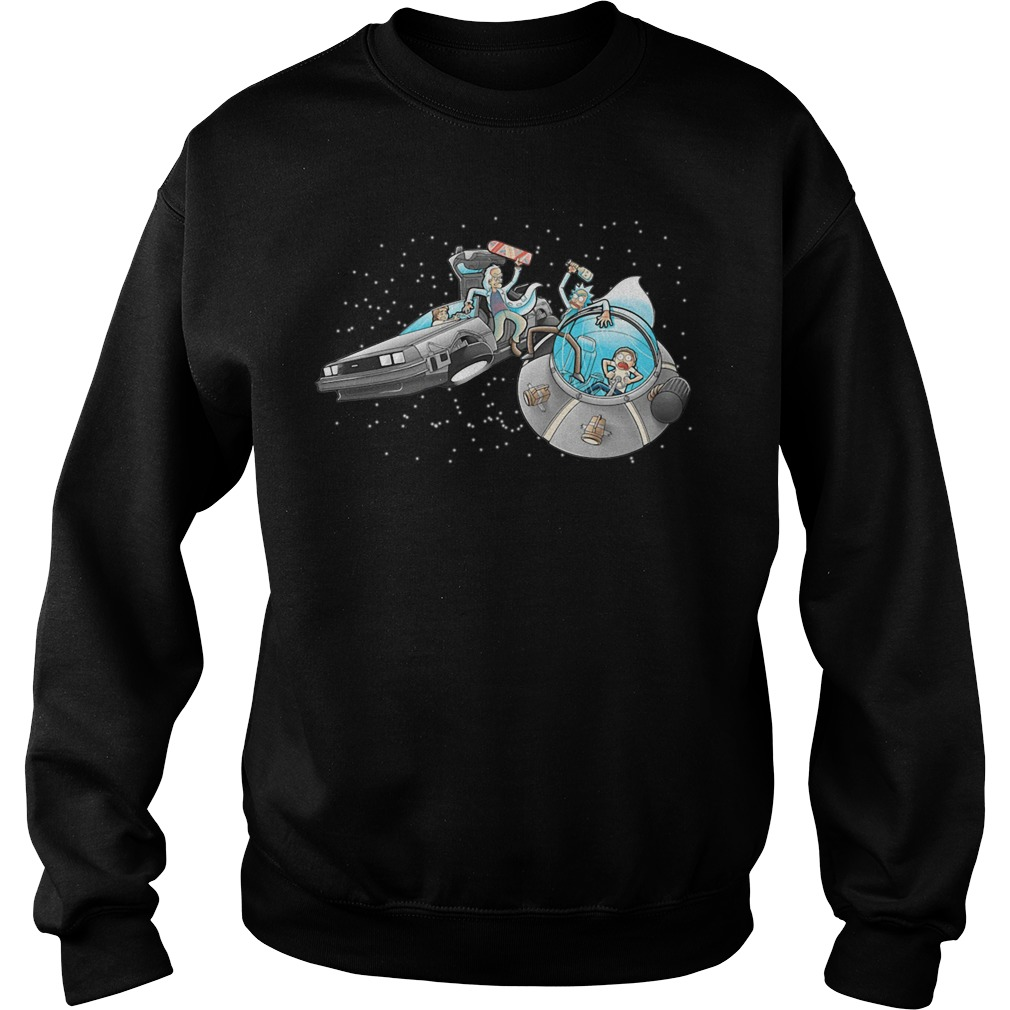 Morty vs Marty back to the future Sweater