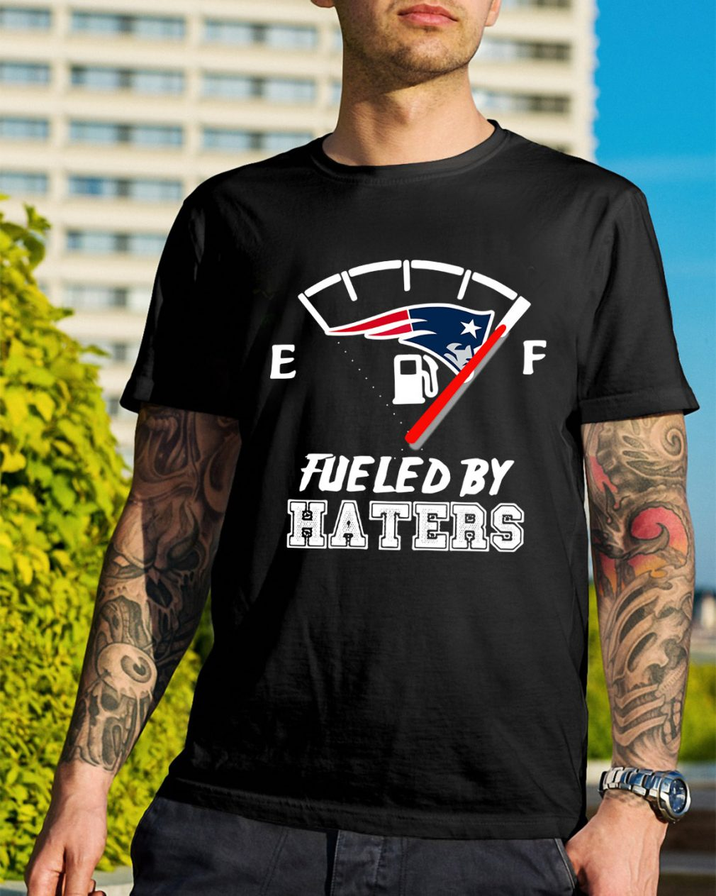 New England Patriots fueled by haters shirt