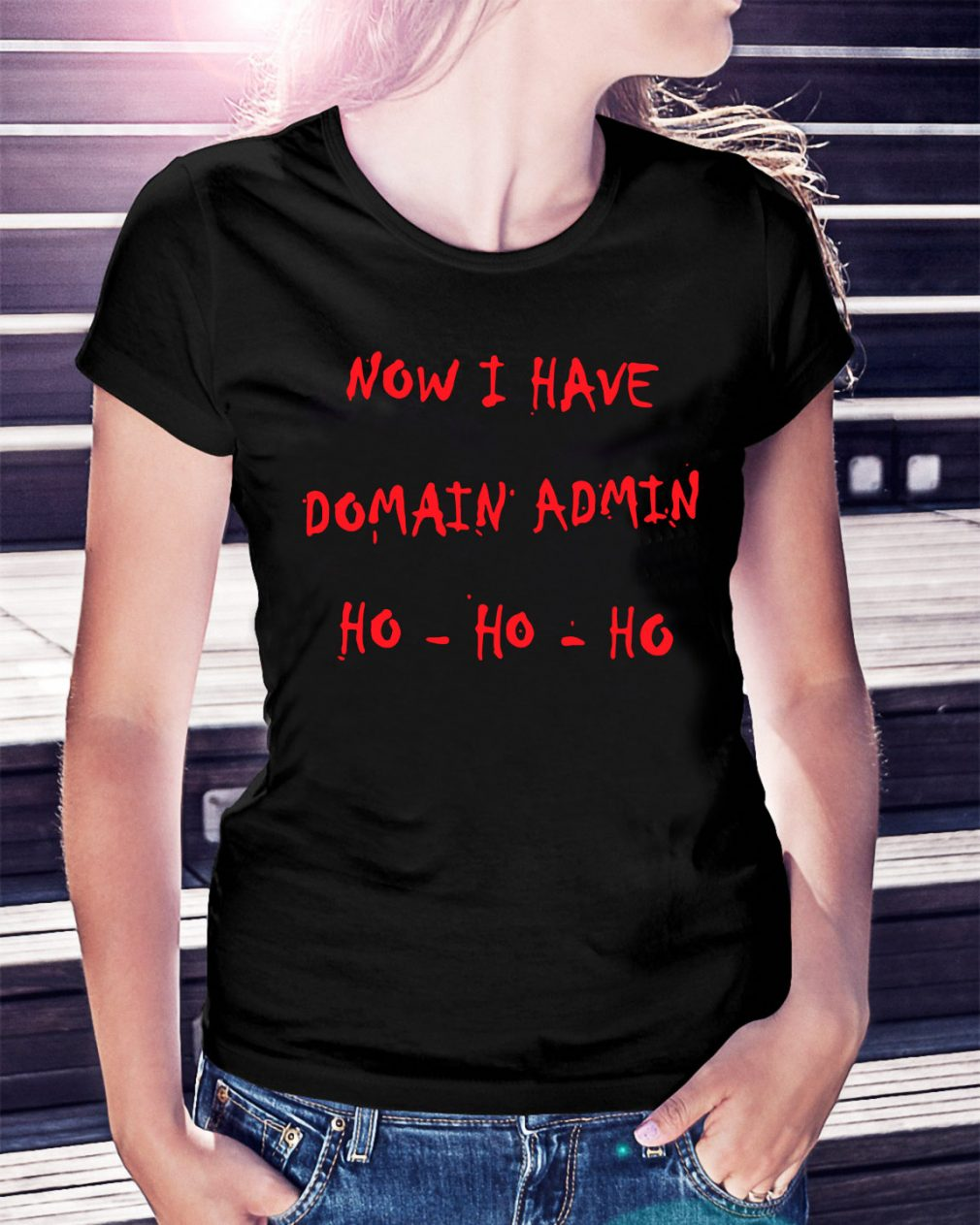 Now I have Domain admin Ho-ho-ho shirt