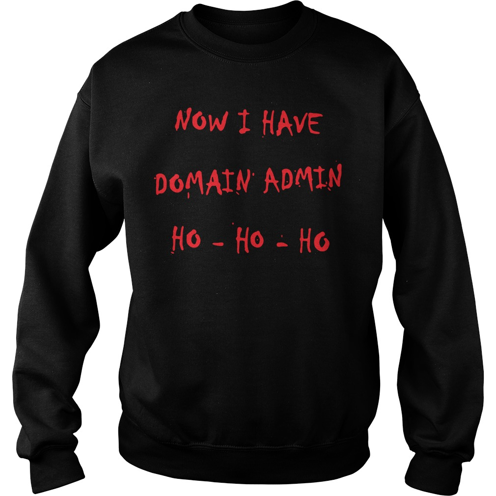 Now I have Domain admin Ho-ho-ho Sweater