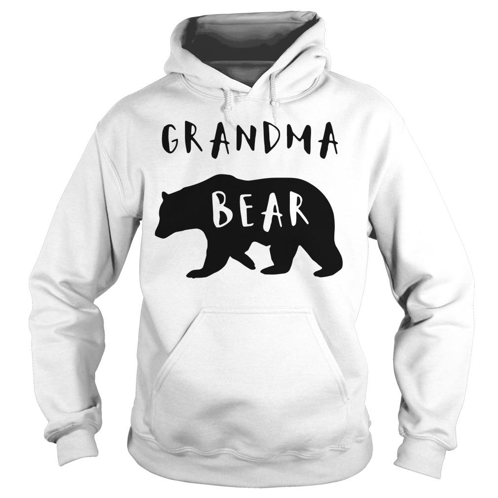 Official Grandma bear Hoodie