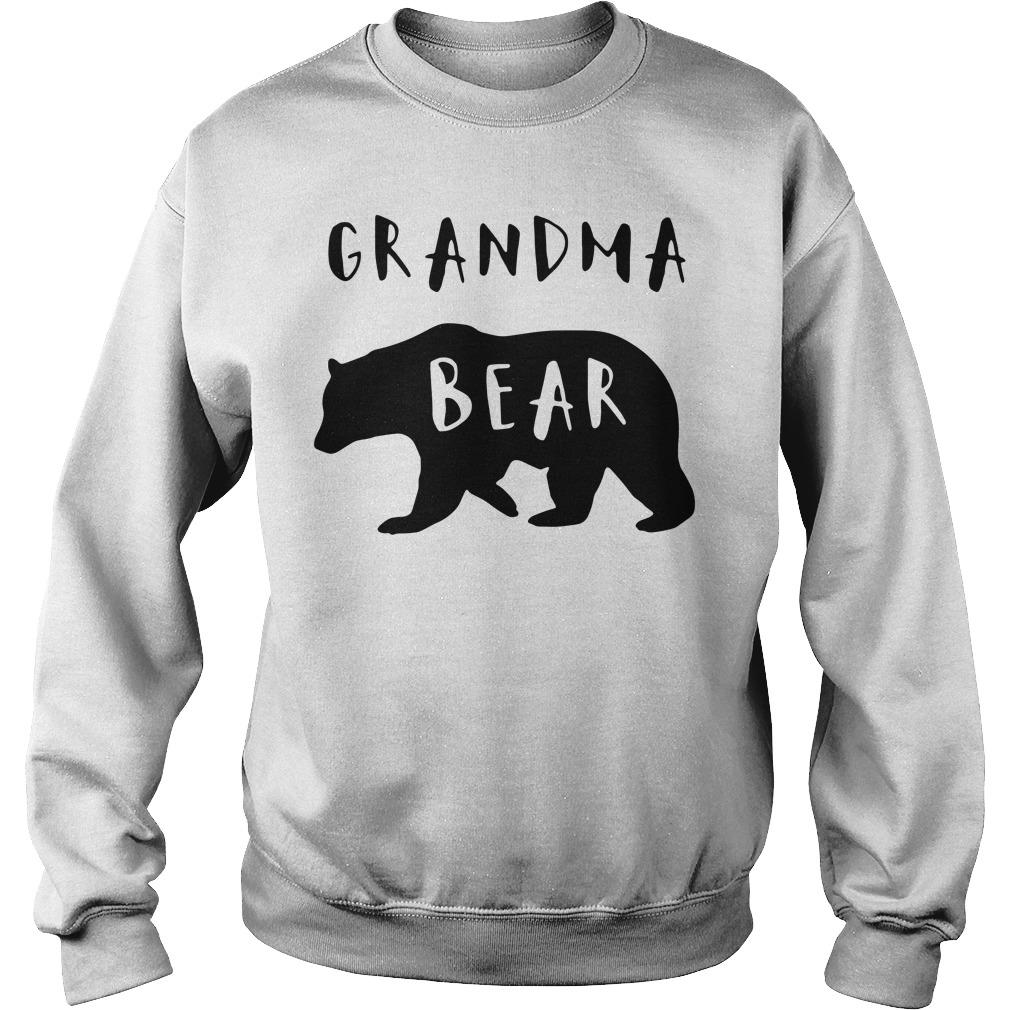 Official Grandma bear Sweater