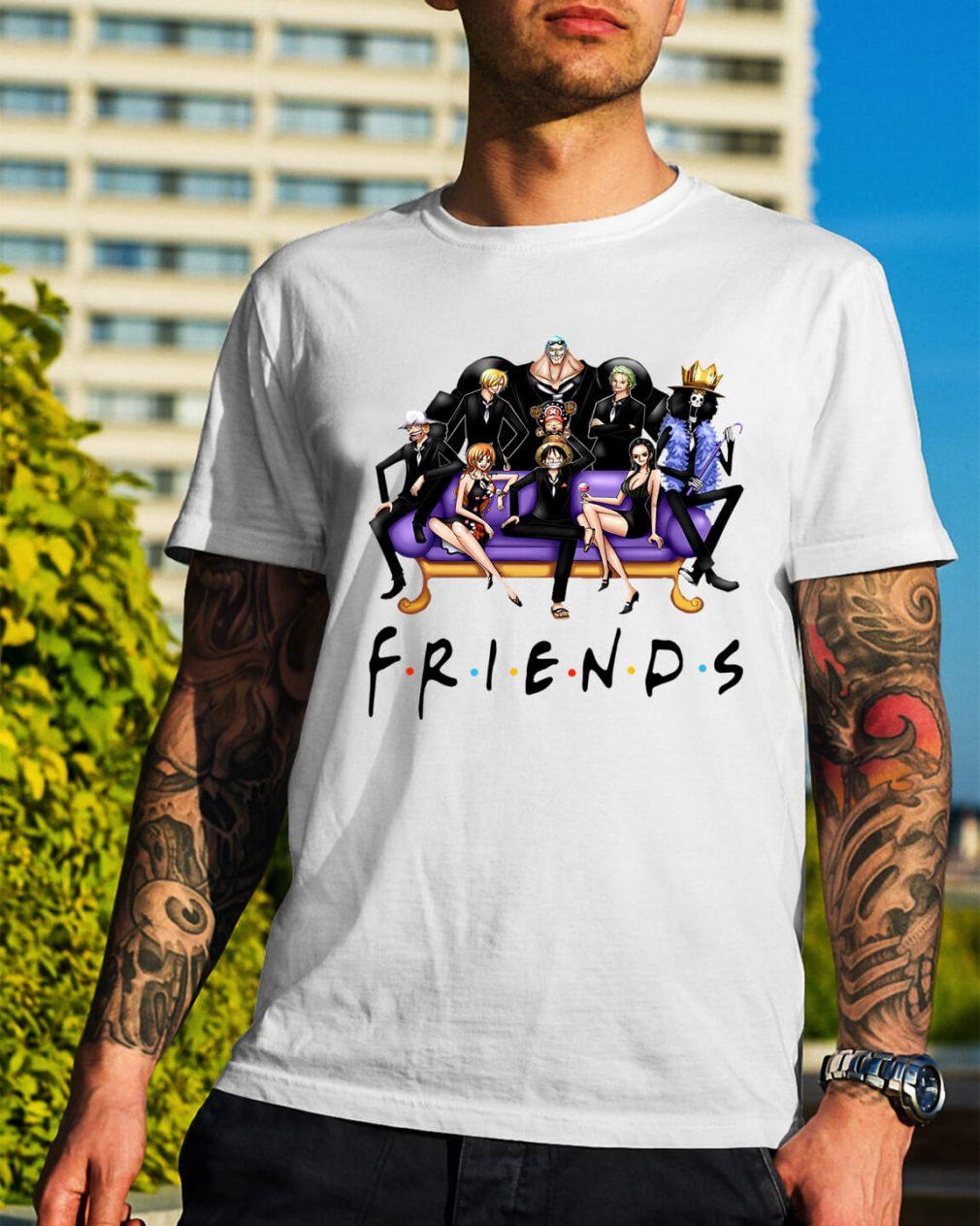 Official One Piece friends shirt