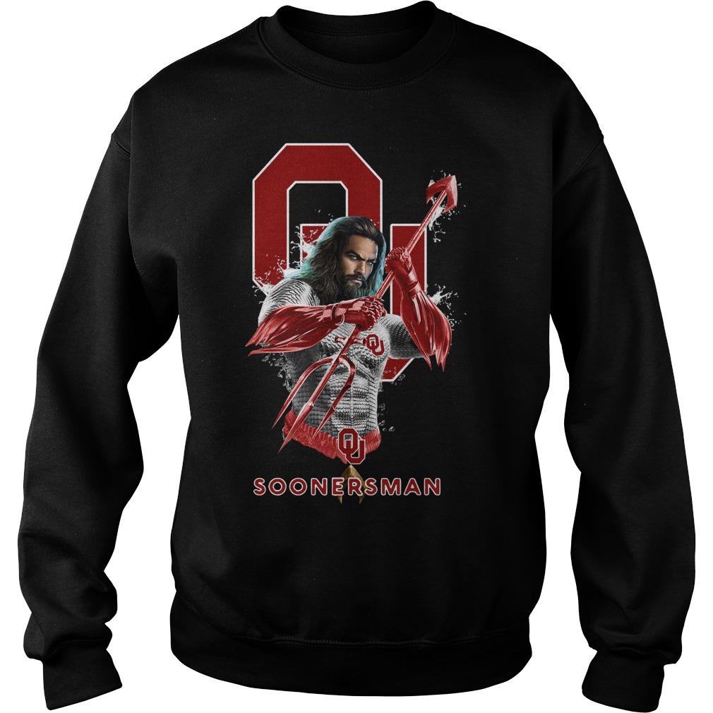 Oklahoma Sooners Aquaman Soonersman Sweater