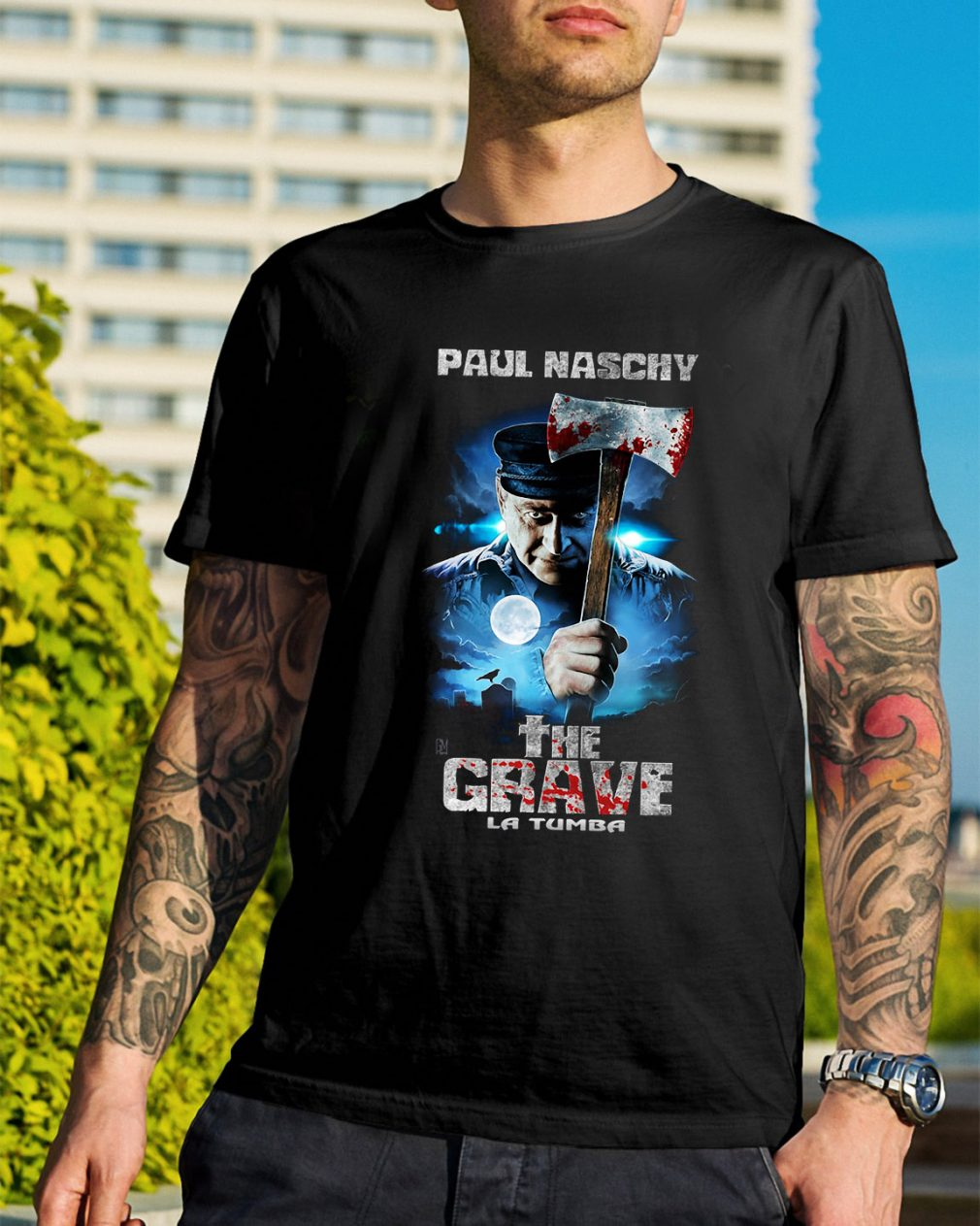 Paul Naschy the Grave La Tumba shirt