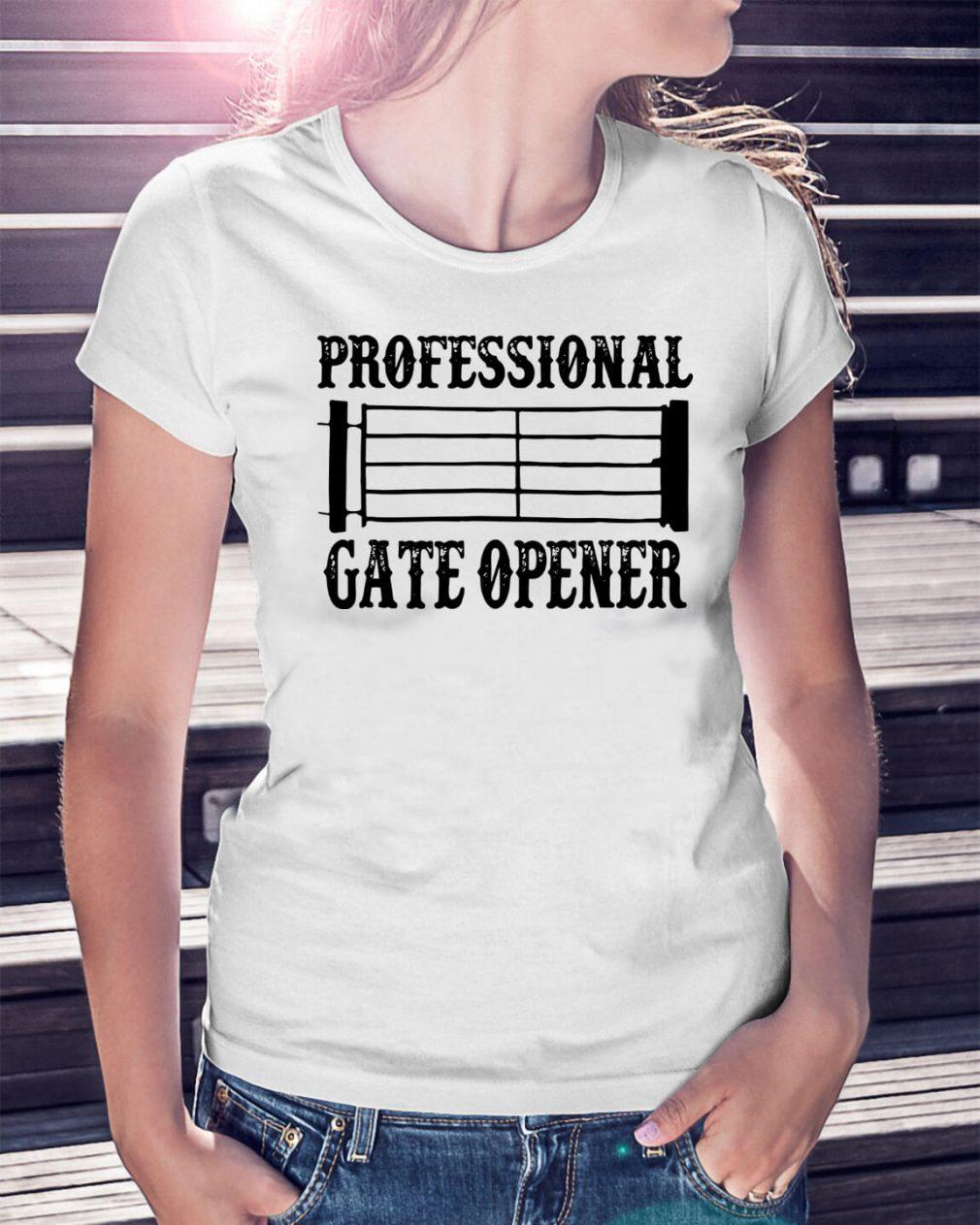 Professional gate opener Staves Ladies Tee