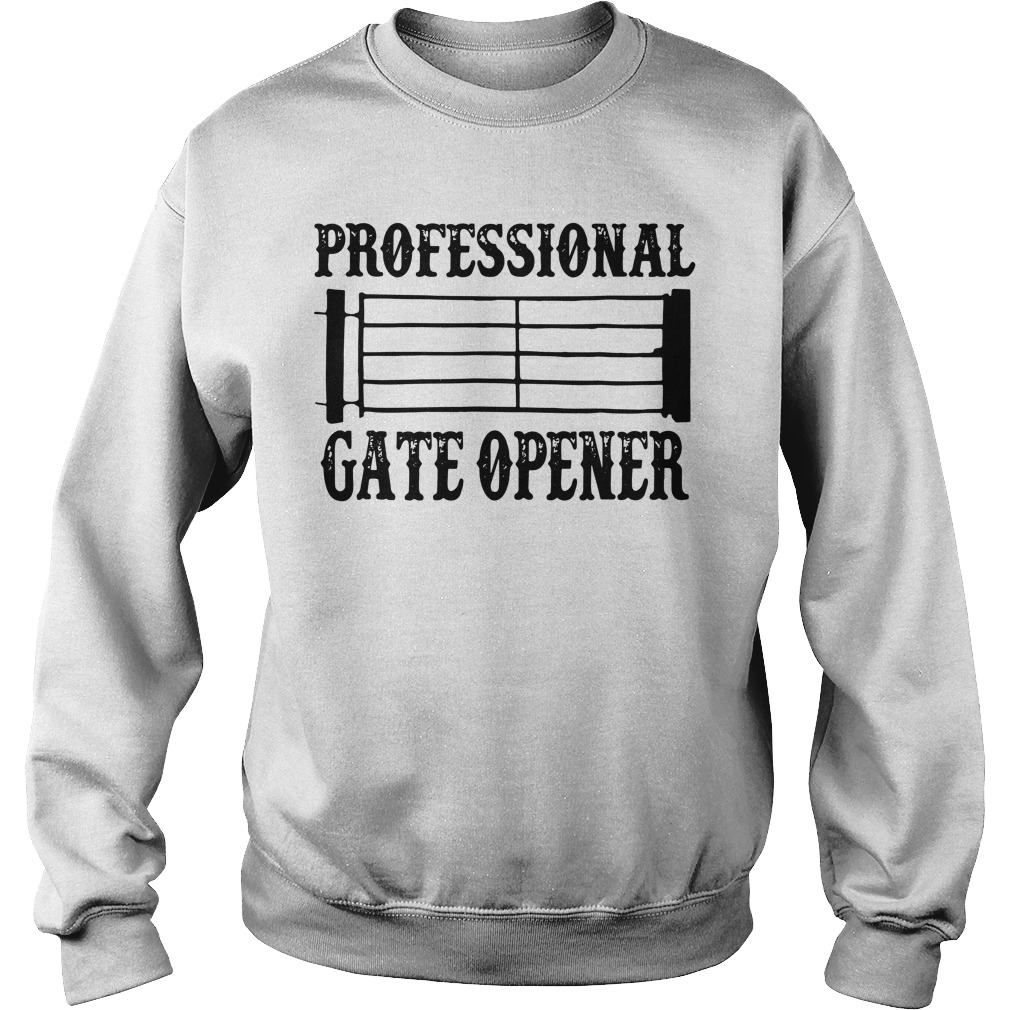 Professional gate opener Staves Sweater