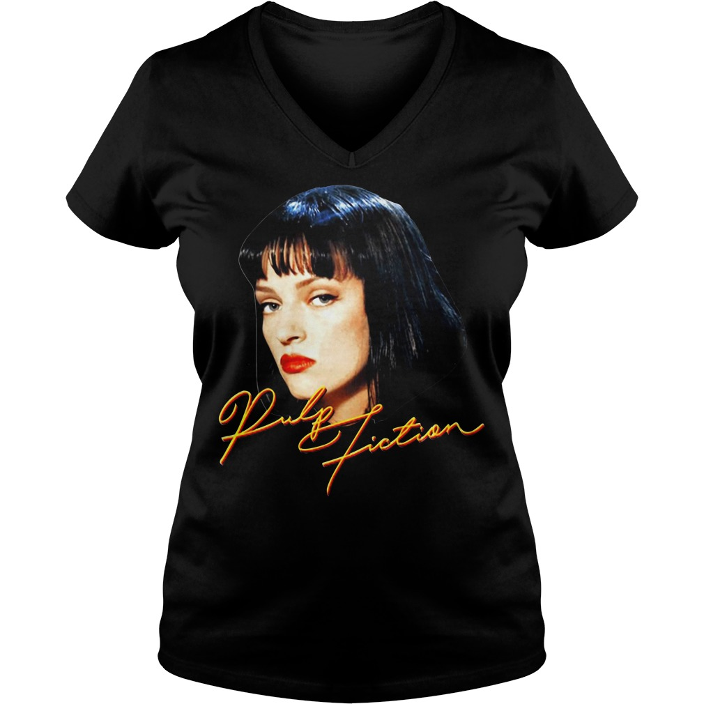 Quentin movie Pulp fiction V-neck T-shirt