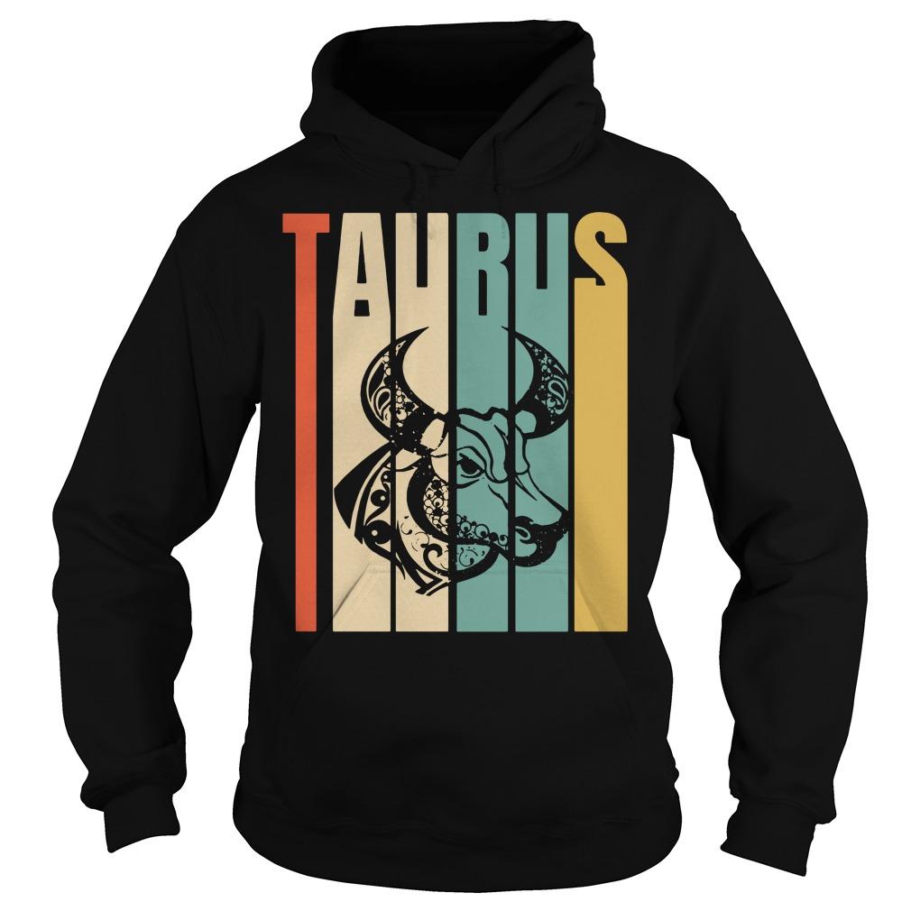 Retro vintage Taurus Hoodie