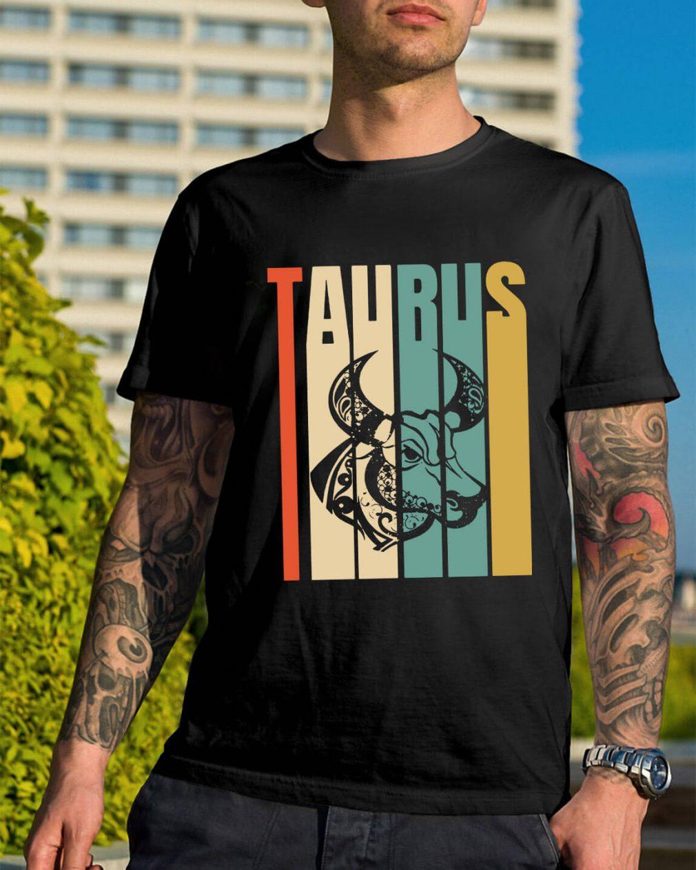 Retro vintage Taurus shirt