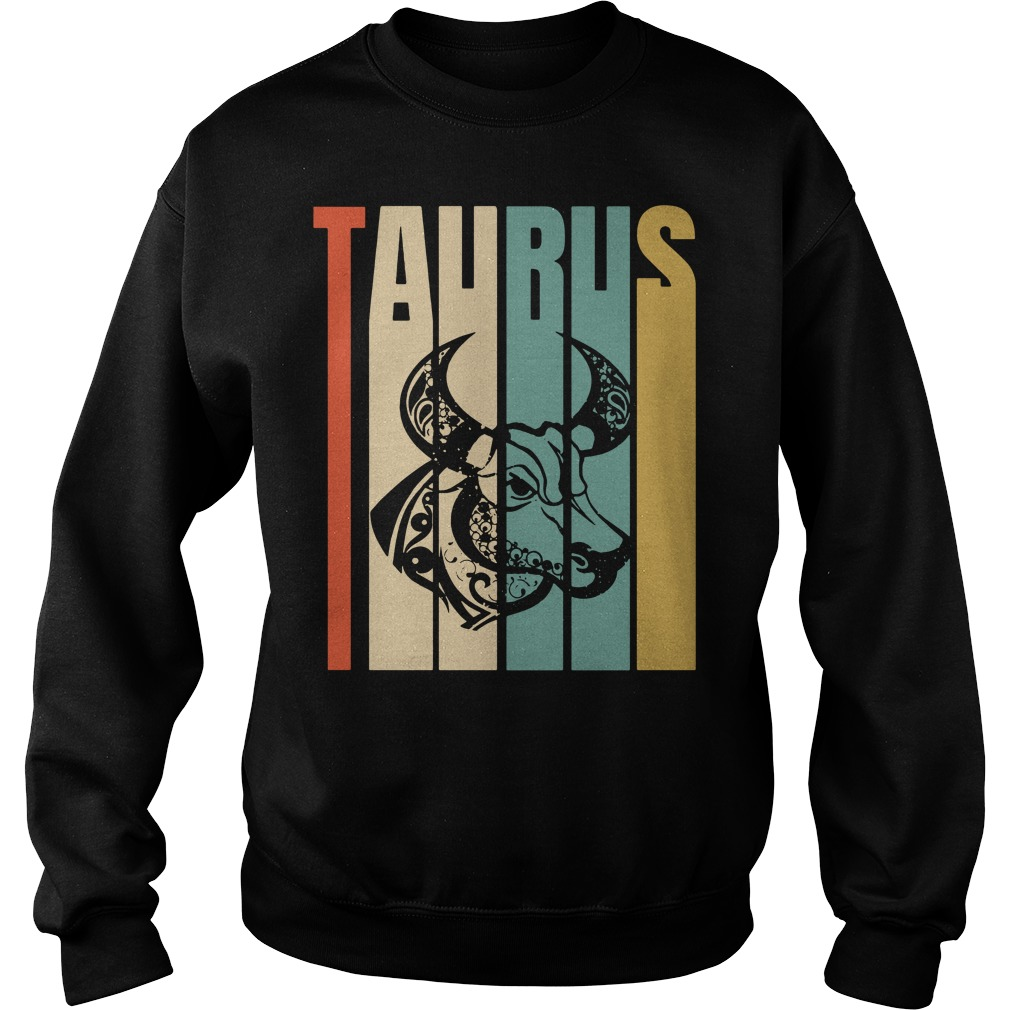 Retro vintage Taurus Sweater