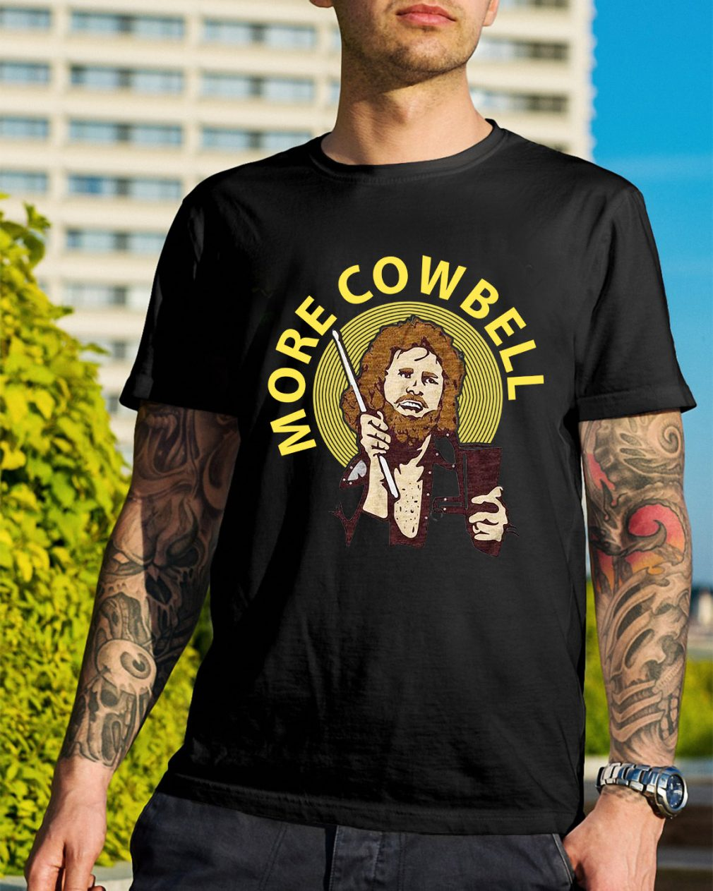 Saturday night live More Cowbell shirt