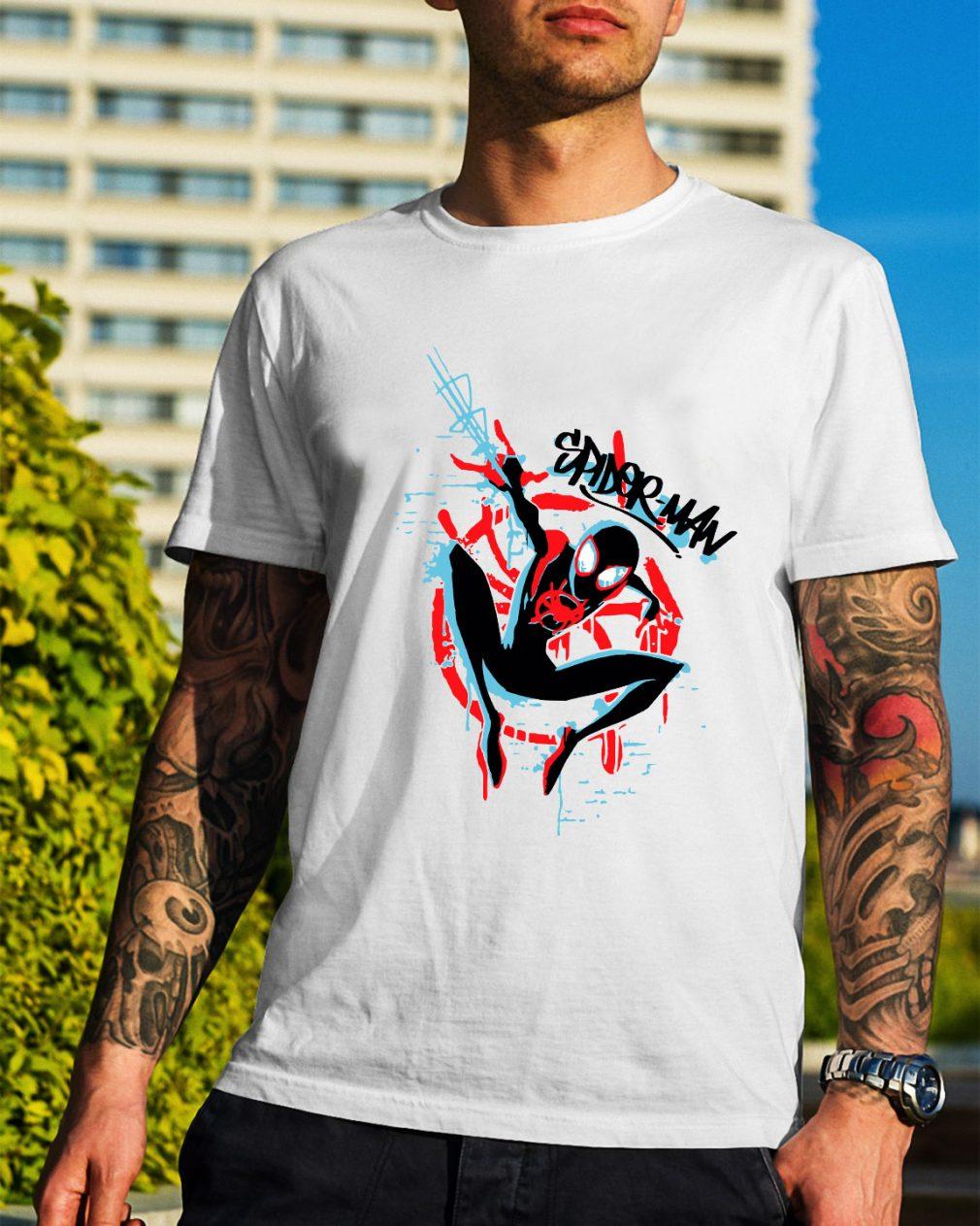 Signature Spider Man shirt