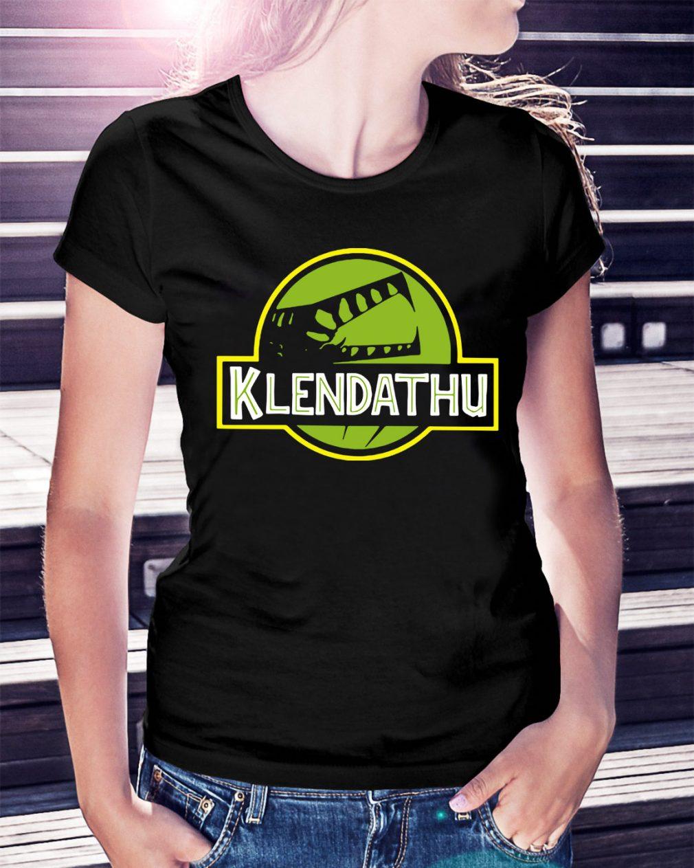 Starship Troopers Klendathu Ladies Tee