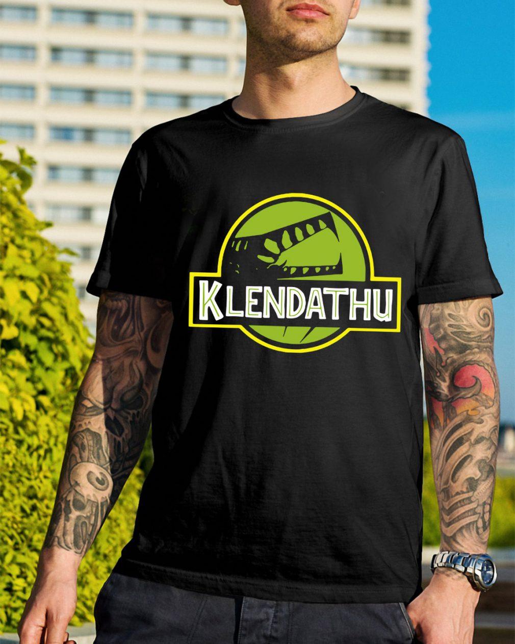 Starship Troopers Klendathu shirt