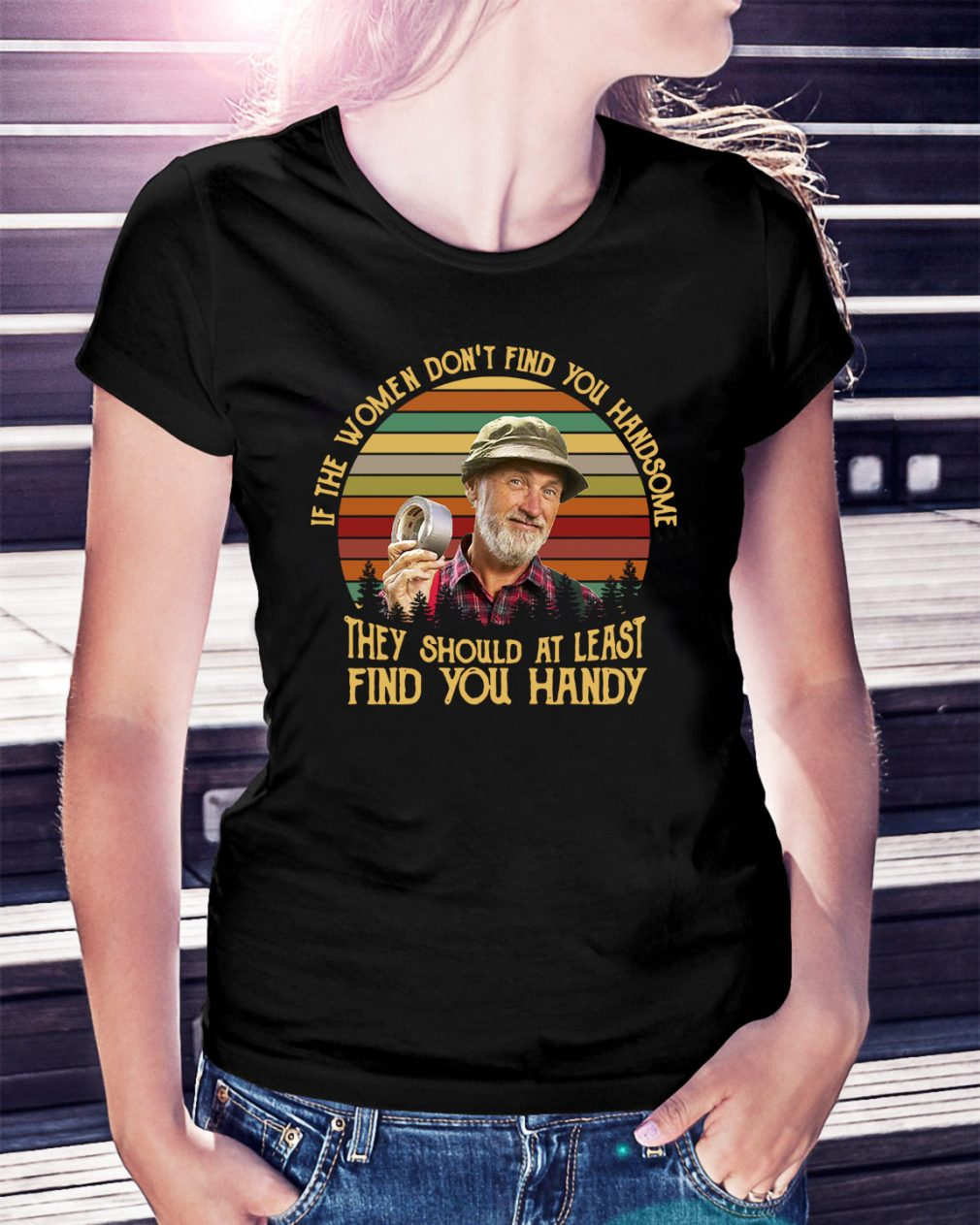 Steve Smith they should at least find you Handy vintage Ladies Tee