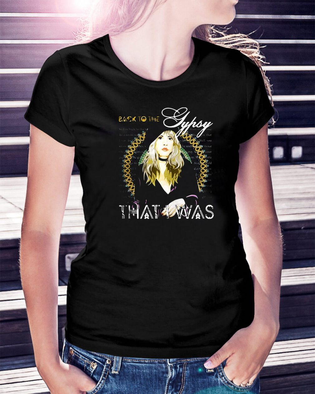 Stevie Nicks Gypsy back to the Gypsy Ladies Tee