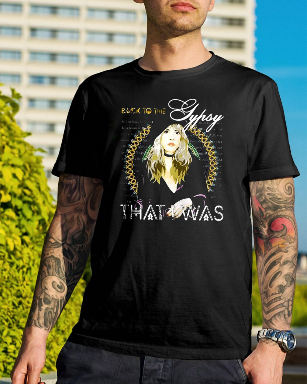 Stevie Nicks Gypsy back to the Gypsy shirt