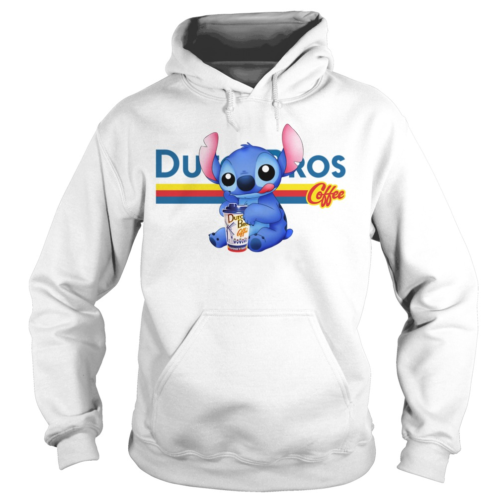Stitch Dutch Bros coffee Hoodie
