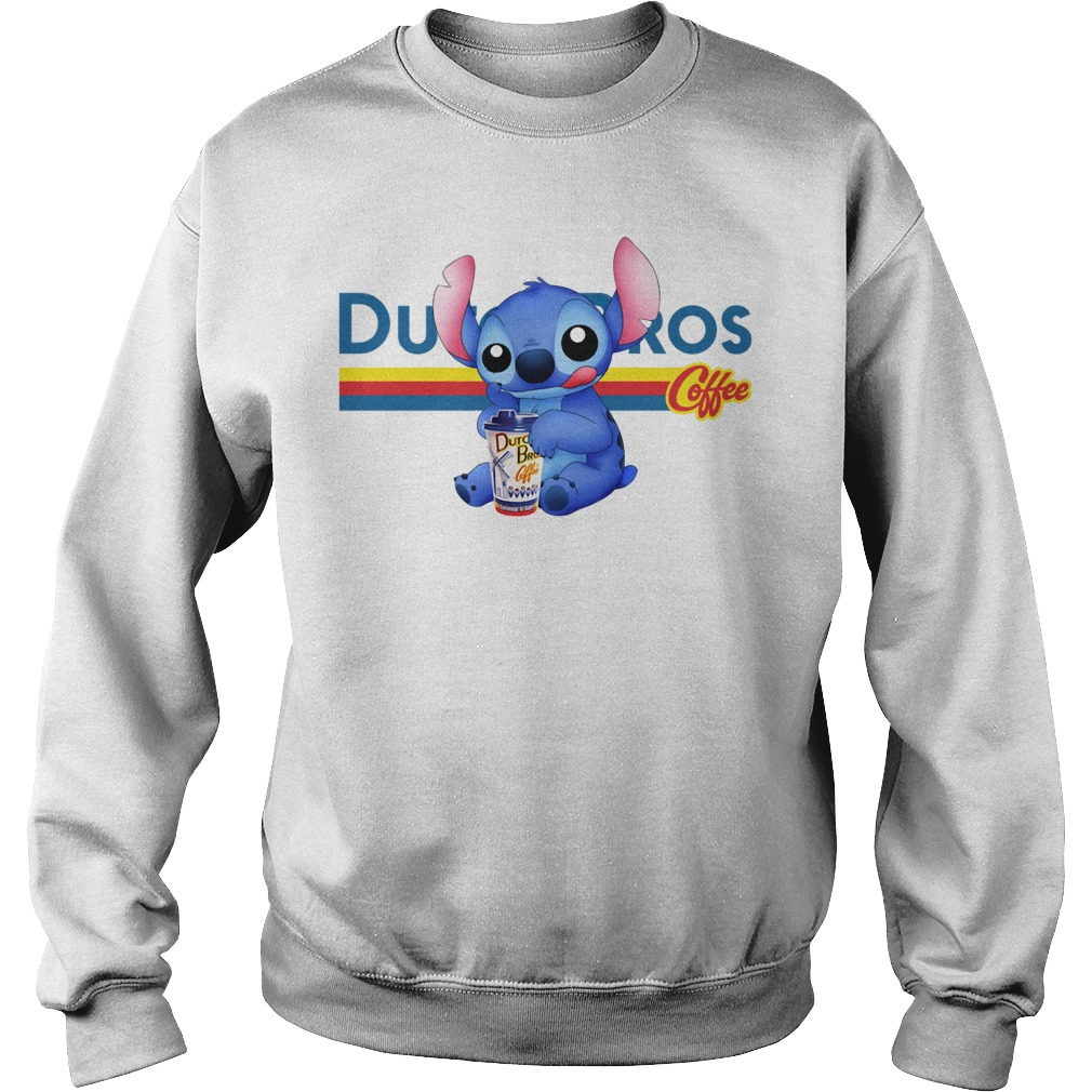 Stitch Dutch Bros coffee Sweater