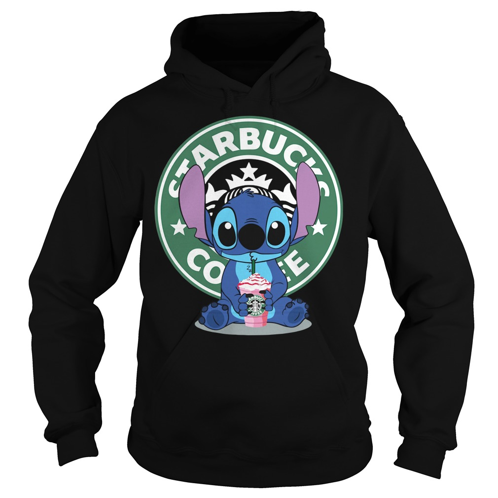 Stitch Starbucks coffee Hoodie