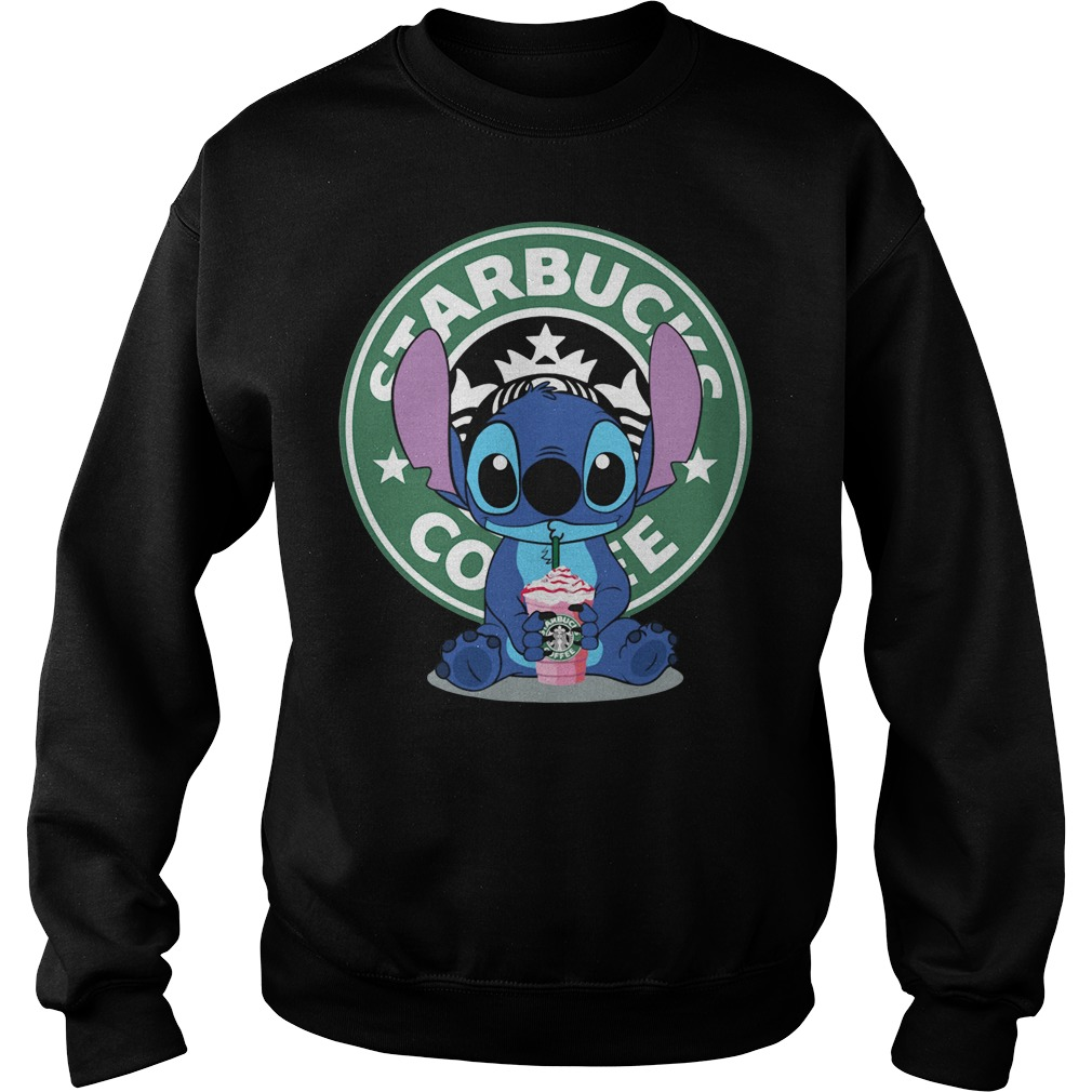 Stitch Starbucks coffee Sweater