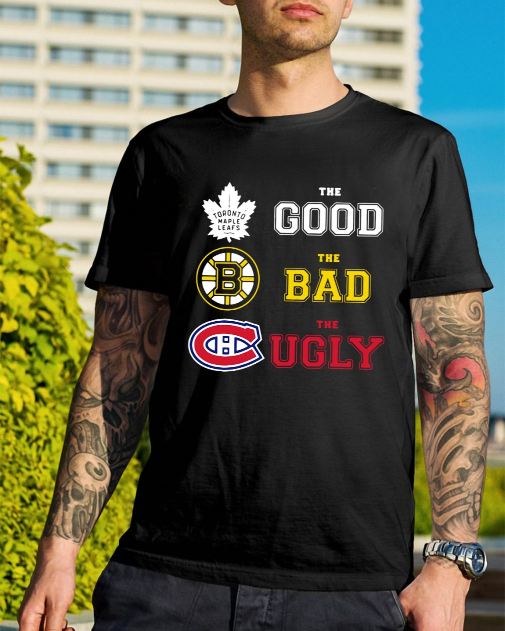 Toronto Maple Leafs the good the bad and the ugly shirt