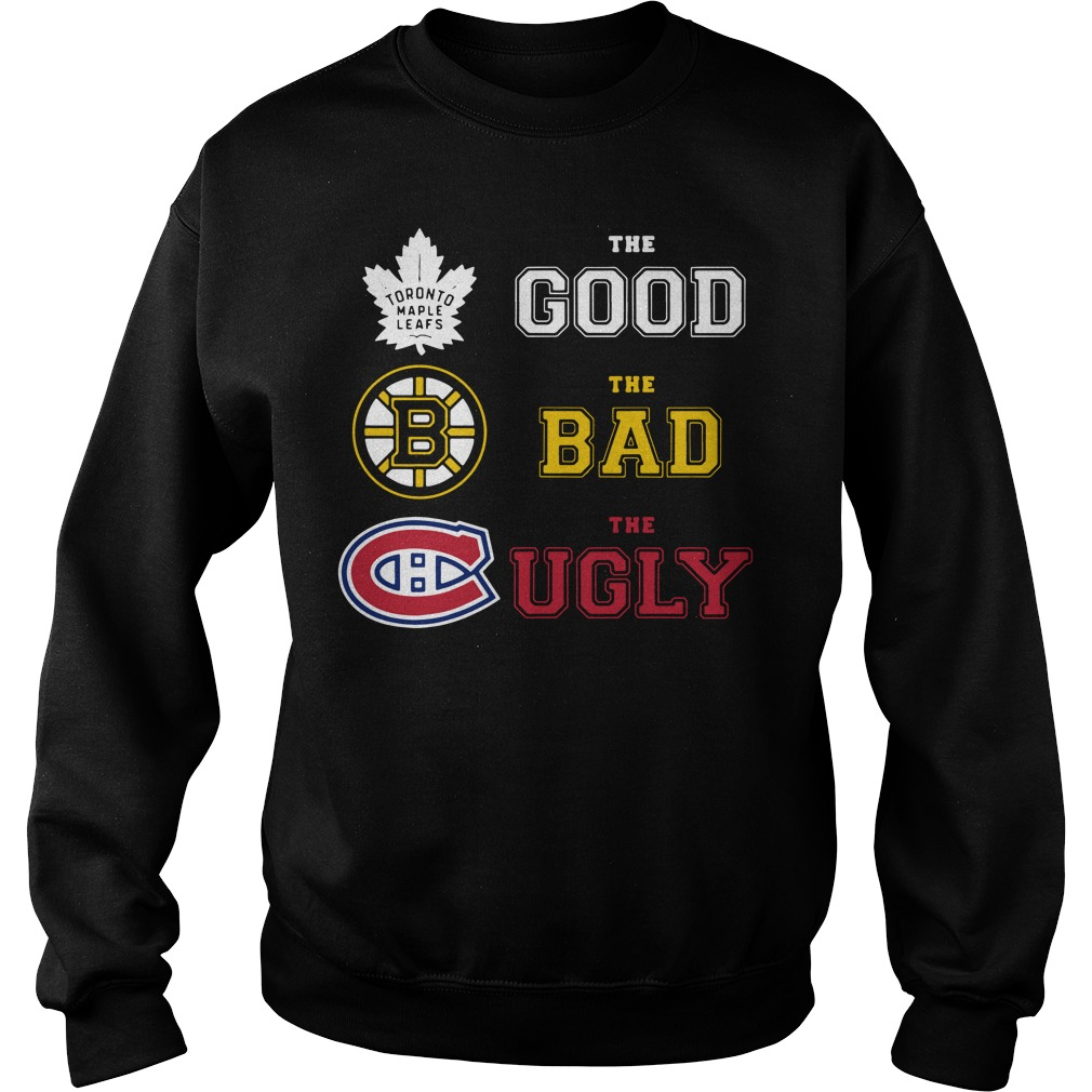 Toronto Maple Leafs the good the bad and the ugly Sweater