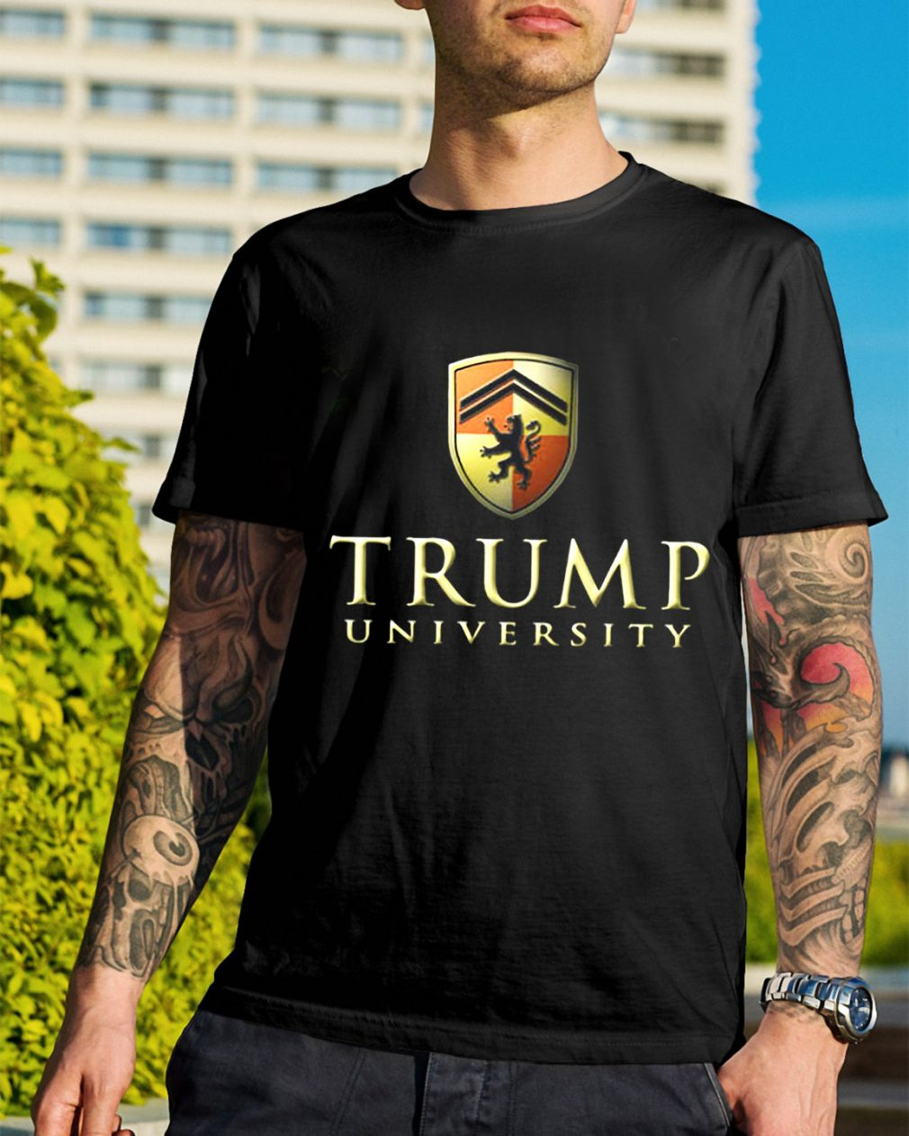 Trump university make America first shirt