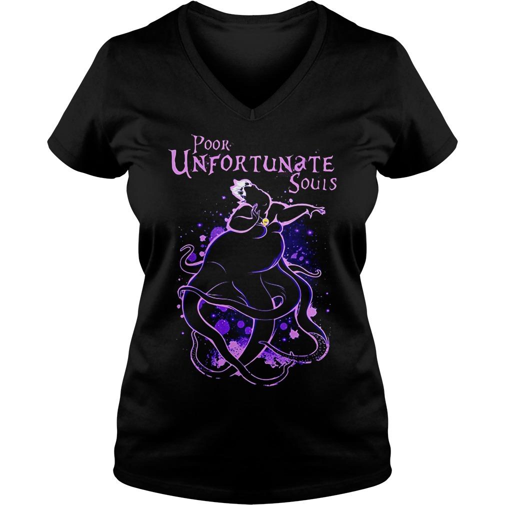 Ursula poor unfortunate souls V-neck T-shirt