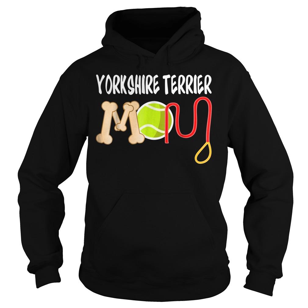 Yorkshire Terrier mom Hoodie