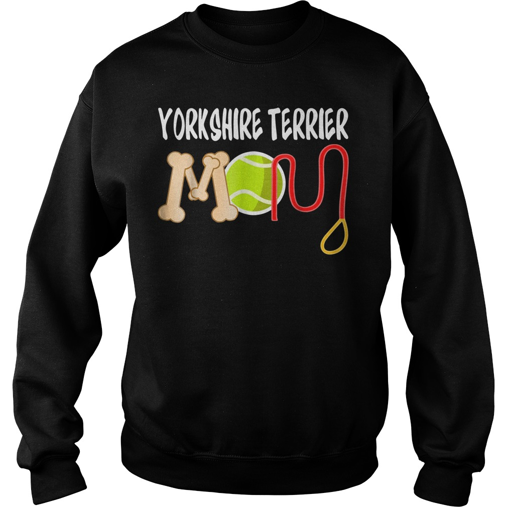 Yorkshire Terrier mom Sweater