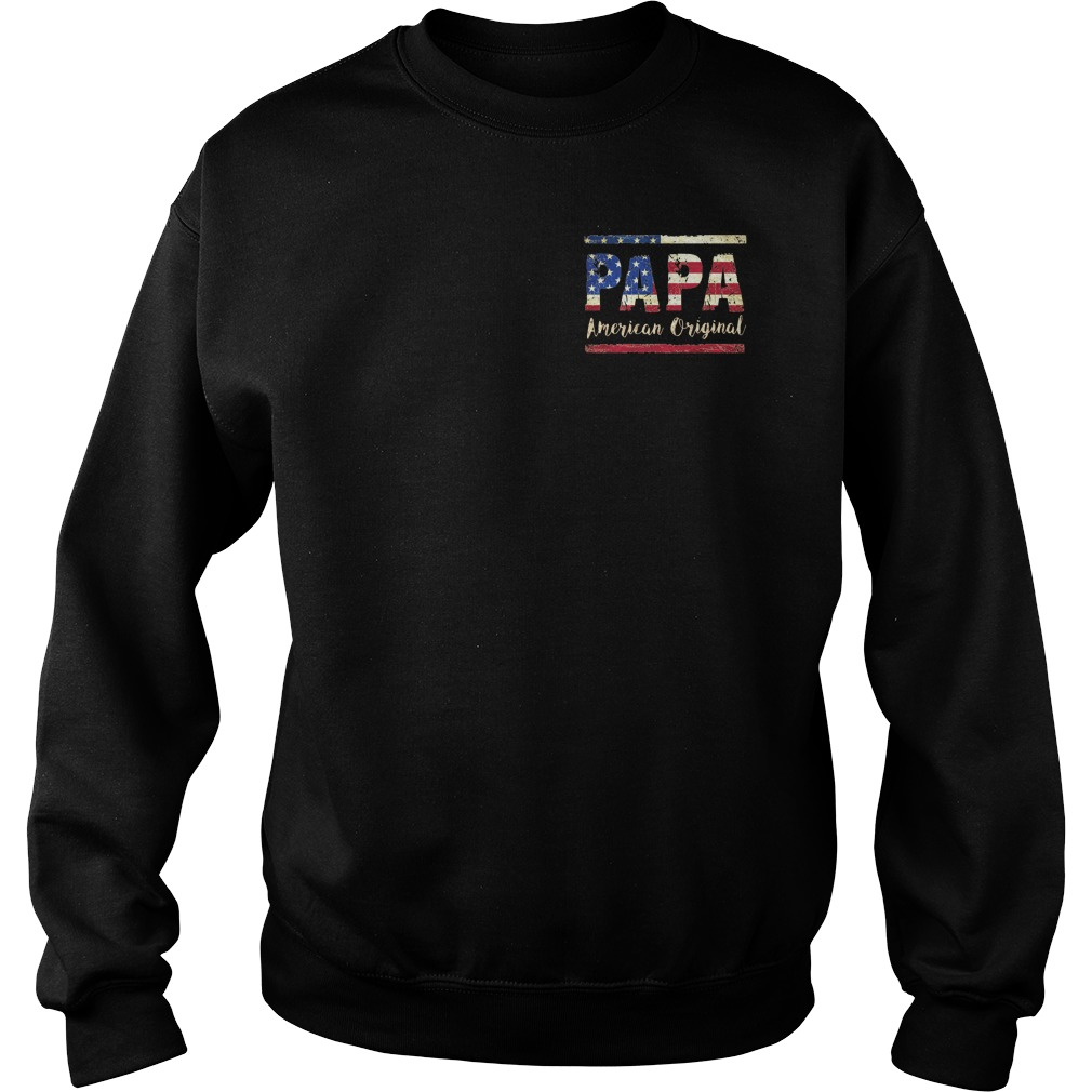 American Flag Papa American original Sweater