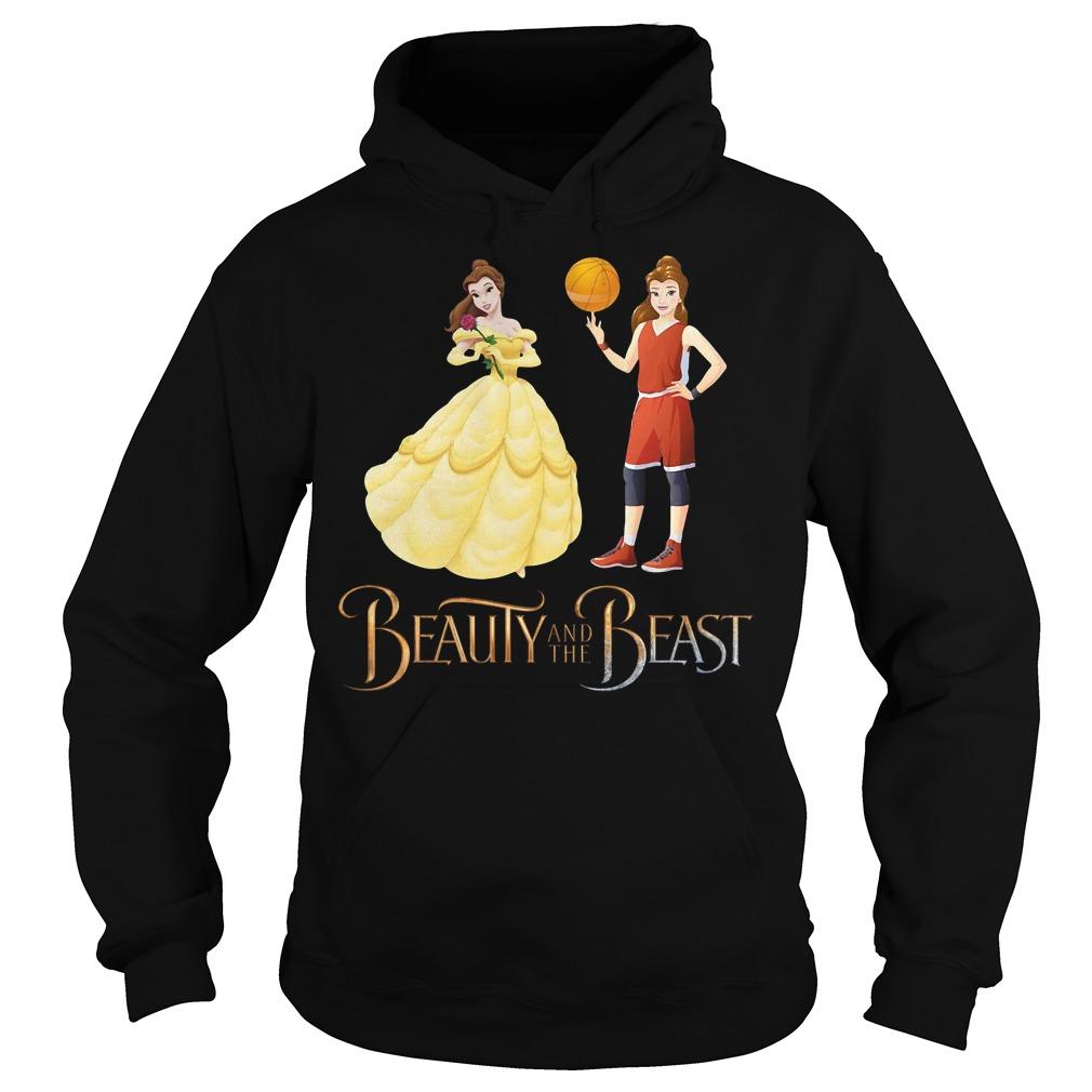 Beauty and the beast Basketball beauty Hoodie