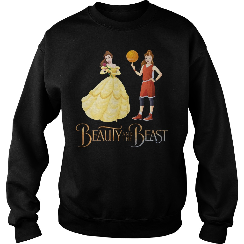 Beauty and the beast Basketball beauty Sweater