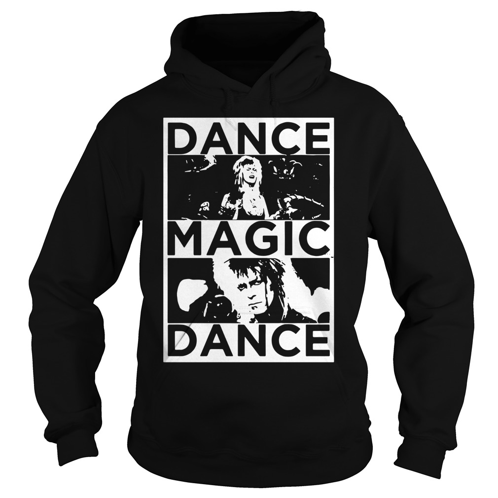 Bowie Labyrinth dance magic dance you remind of the babe Hoodie
