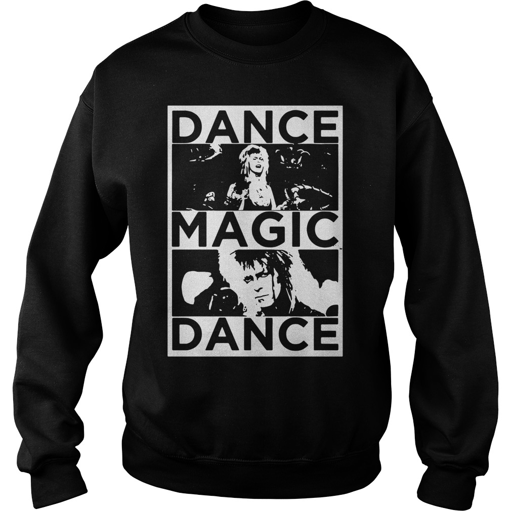 Bowie Labyrinth dance magic dance you remind of the babe Sweater