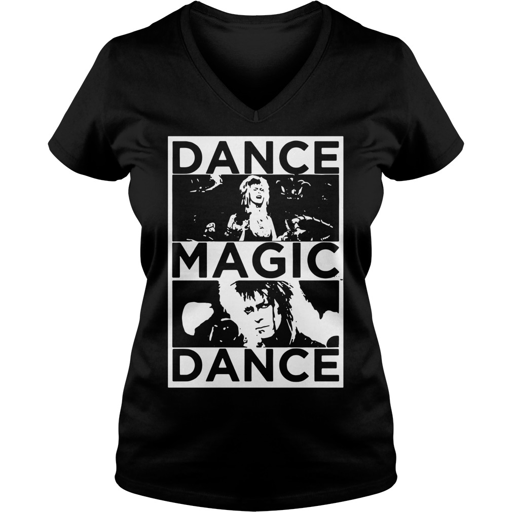 Bowie Labyrinth dance magic dance you remind of the babe V-neck T-shirt